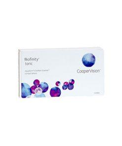 خرید لنز طبی آستیگمات کوپرویژن بایوفینیتی