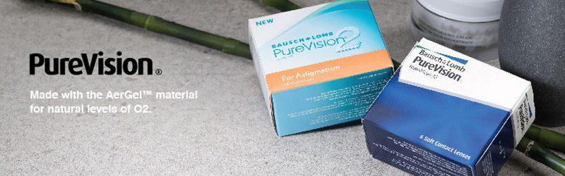 خرید لنز چشم طبی پیورویژن