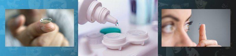 آموزش نگهداری از لنز طبی رنگی