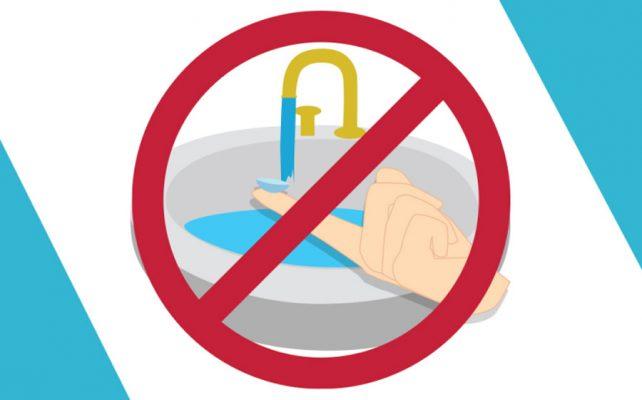 عدم تماس لنز با آب حمام و استخر